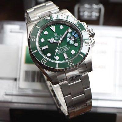 【AR一比一超A高仿劳力士绿水鬼手表】劳力士潜航者型系列116610LV-97200 绿盘腕表价格报价