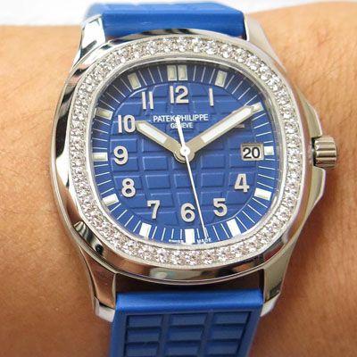 百达翡丽AQUANAUT系列5067A-022腕表【PPF厂一比一高仿百达翡丽鹦鹉螺女表】