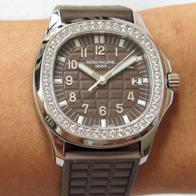 【PPF一比一顶级复刻手表】PATEK PHILIPPE百达翡丽AQUANAUT系列5067A-023腕表女装价格报价