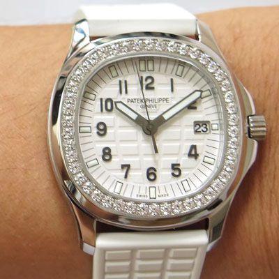 【PPF厂一比一超A精仿手表】百达翡丽AQUANAUT系列5067A-024女士腕表