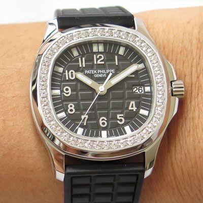 【PPF厂一比一超A高仿手表】百达翡丽AQUANAUT系列5067A-001 不锈钢腕表鹦鹉螺女装