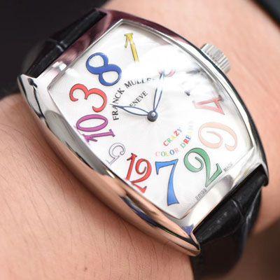 【台湾厂超A精仿法兰克穆勒手表】Franck Muller法穆兰CRAZY HOURS 系列8880 CH COL DRM腕表