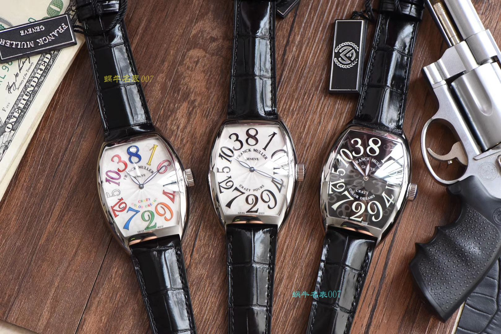 【台湾厂超A精仿法兰克穆勒手表】Franck Muller法穆兰CRAZY HOURS 系列8880 CH COL DRM腕表 / FL037