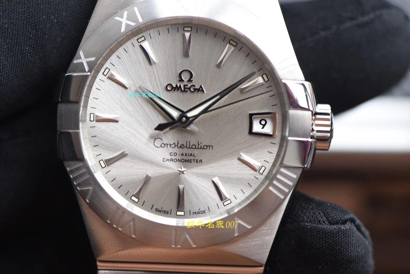 【视频评测VS厂OMEGA周年之作】欧米茄星座系列123.10.38.21.02.001腕表 / M381