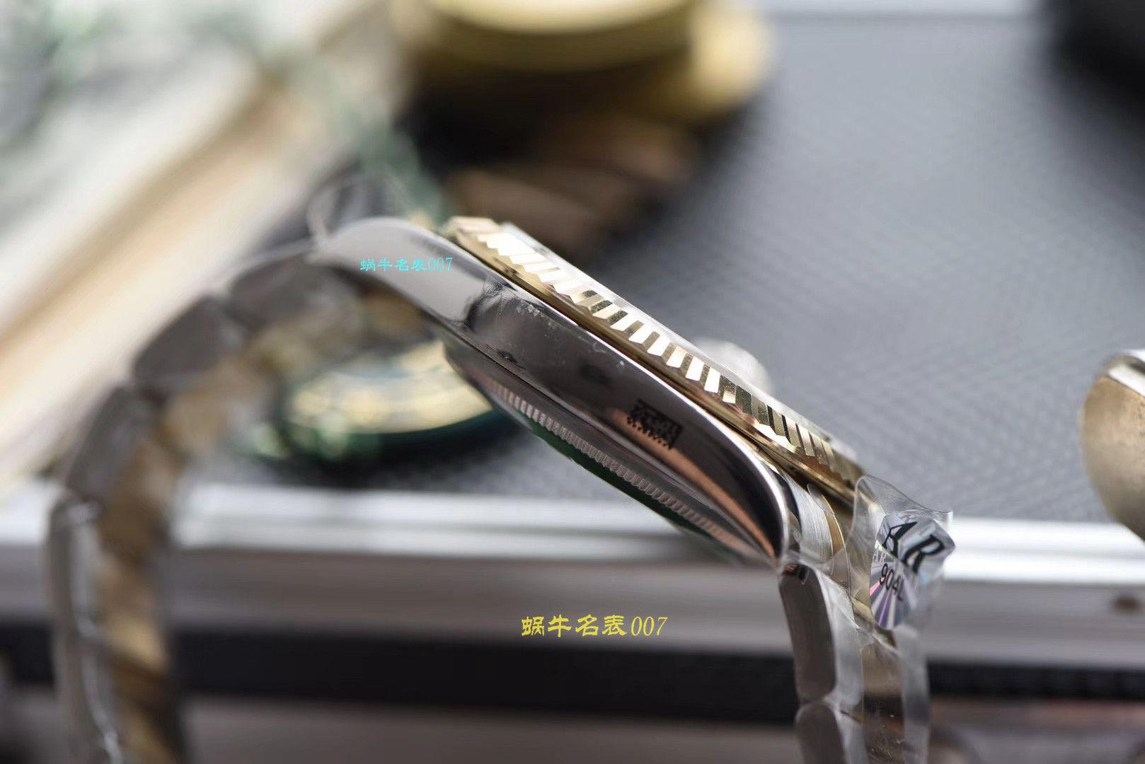 【视频评测AR厂官网劳力士41毫米间金日志】劳力士日志型系列116333-72213 G香槟盘镶钻腕表 / R321