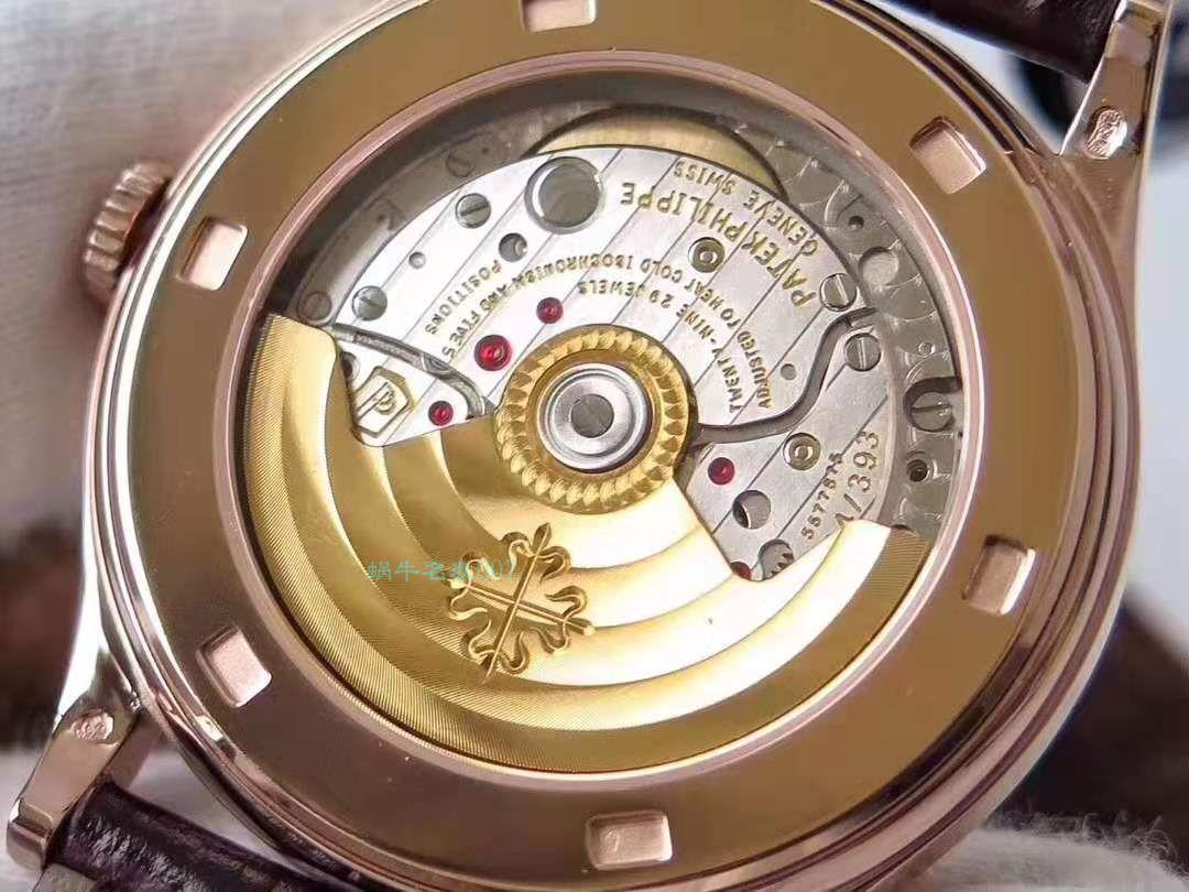 【百达翡丽仿表多少钱】ZF厂百达翡丽古典表系列5296R-010 玫瑰金腕表 / BD183