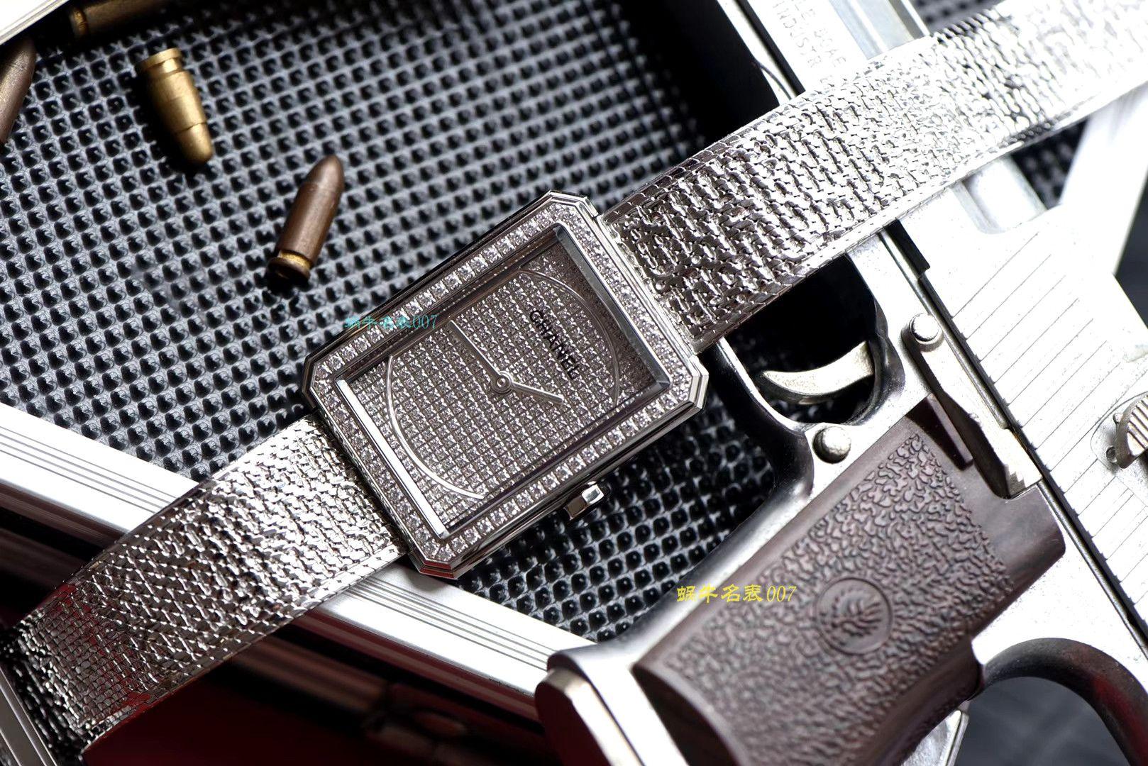 【复刻手表哪家好】香奈儿BOY · FRIEND系列BOY∙FRIEND TWEED女士腕表TWEED斜纹软呢钢带多色可选 / X51
