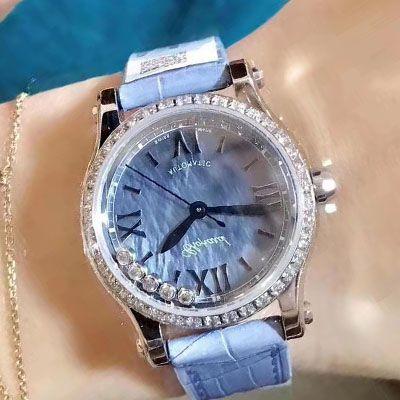 【高仿萧邦女表】萧邦HAPPY DIAMONDS系列278573-3010腕表