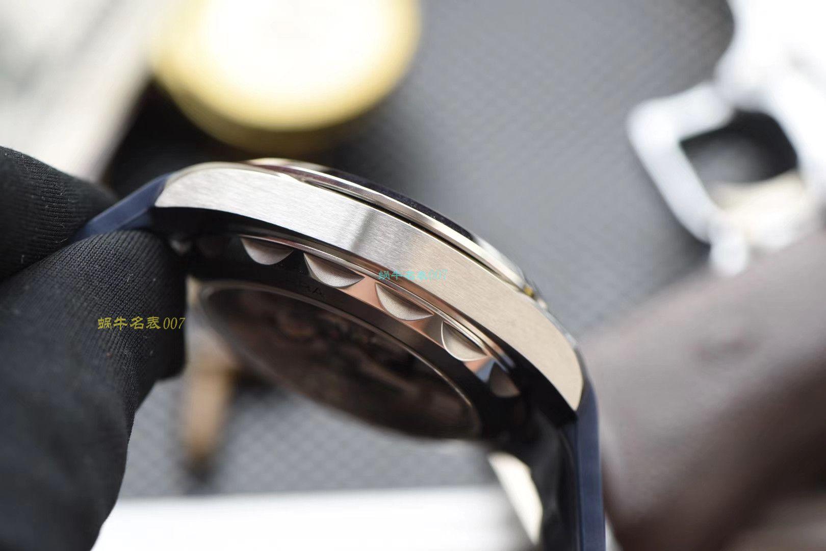 【欧米茄复刻表价格】视频评测3S厂欧米茄海马系列220.12.41.21.02.002,220.12.41.21.06.001等多色横纹腕表 / M387