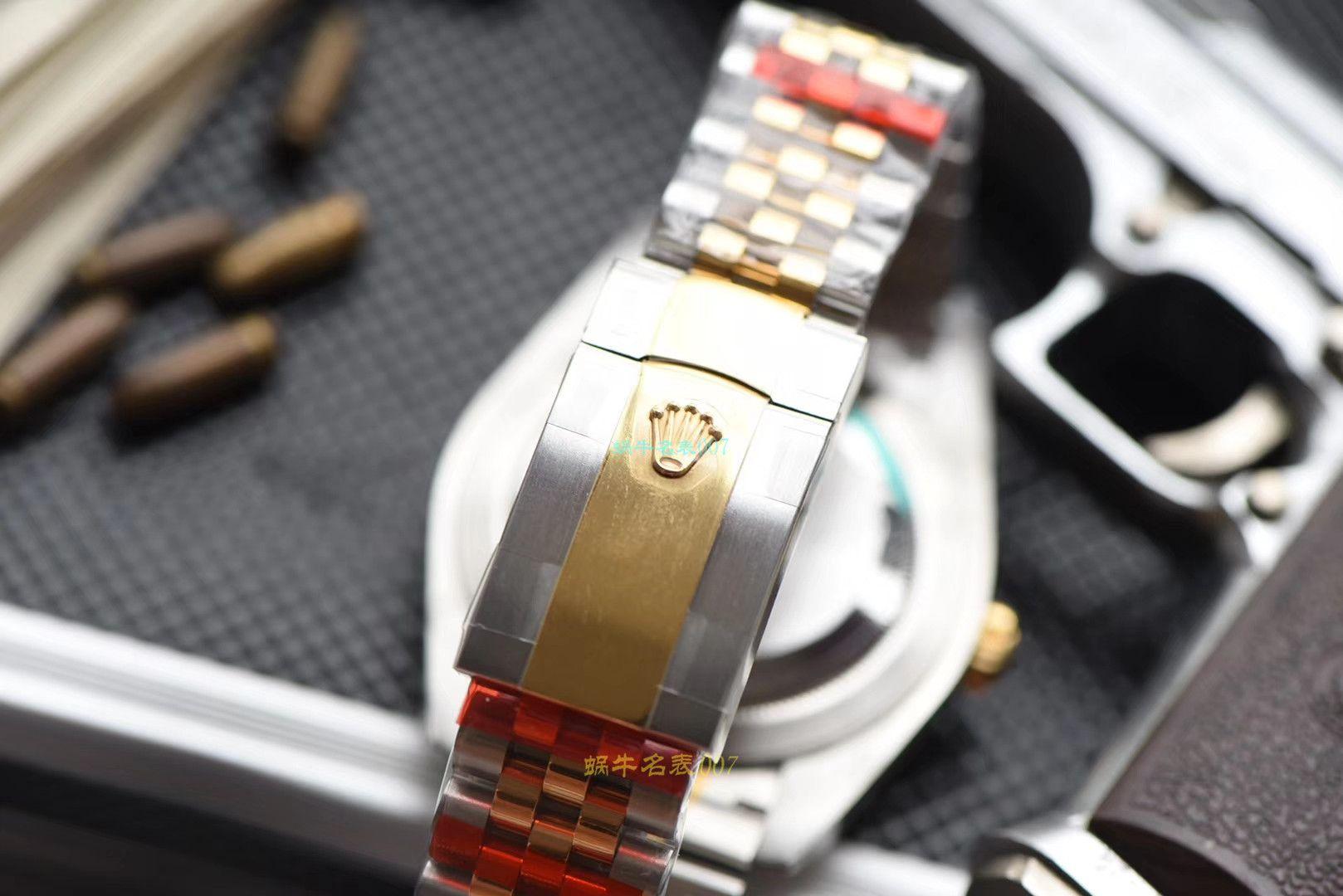 【仿劳力士机械表男表价格】视频评测DJ厂劳力士日志型系列m126333-0016,m126333-0012,m126333-0010腕表 / R323