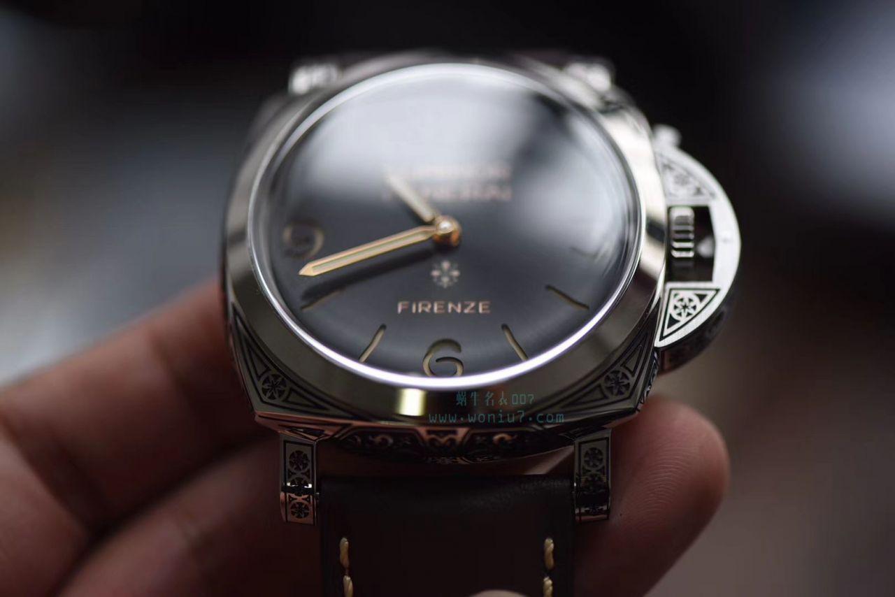 【视频评测V9厂Panerai复刻表】沛纳海LUMINOR系列 PAM00972 Firenze腕表 / V9PAM00972