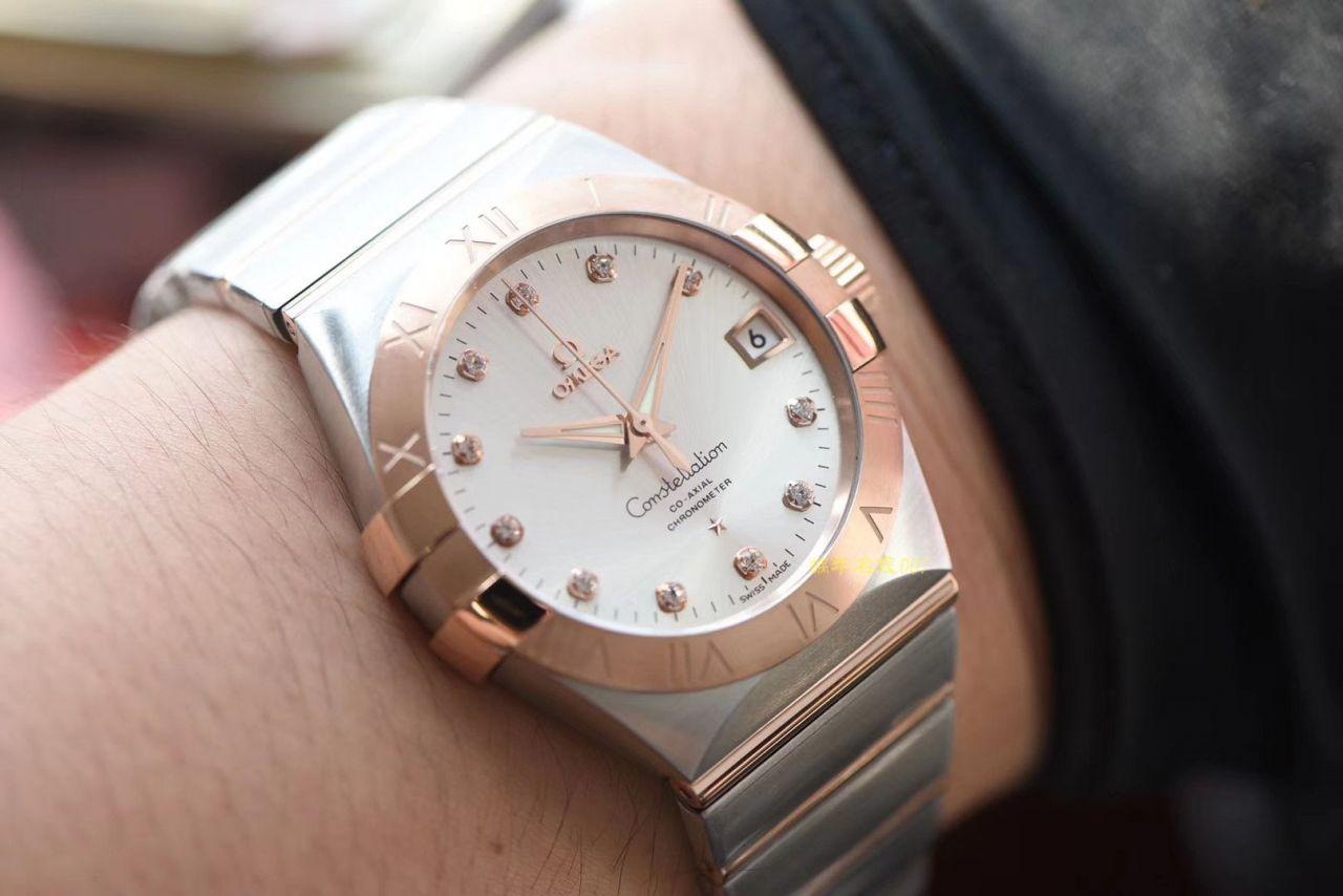 【VS厂顶级复刻手表】OMEGA欧米茄星座系列123.20.38.21.02.001腕表 / M391