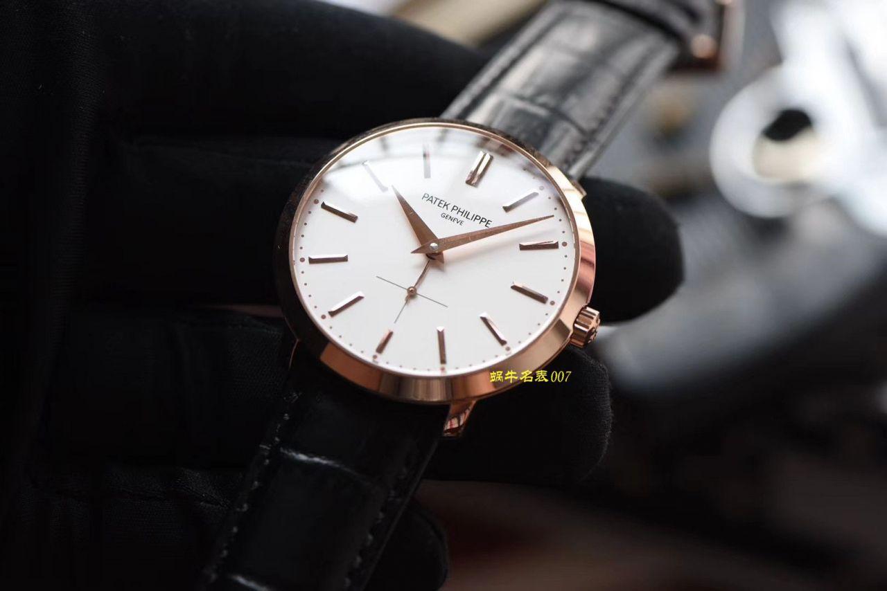 【TW厂Patek Philippe复刻表】百达翡丽古典表系列5123R-001腕表 / BD271
