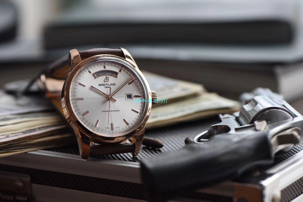 【V7厂复刻表可以买吗】百年灵越洋系列R45310121G1P1腕表 / BL101