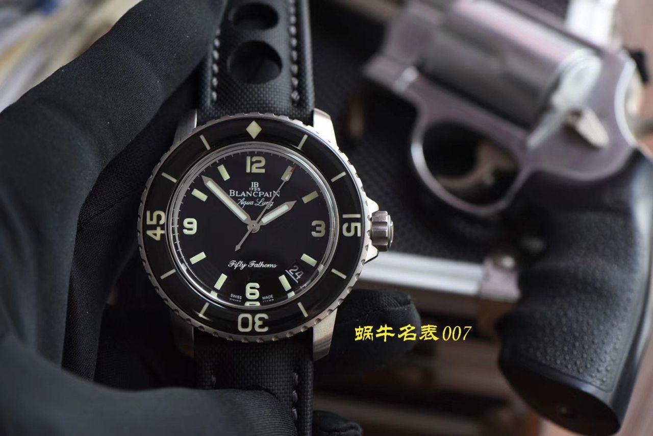 【视频评测ZF厂复刻宝珀五十噚手表】宝珀五十噚系列5015C-1130-52B腕表 / BP062
