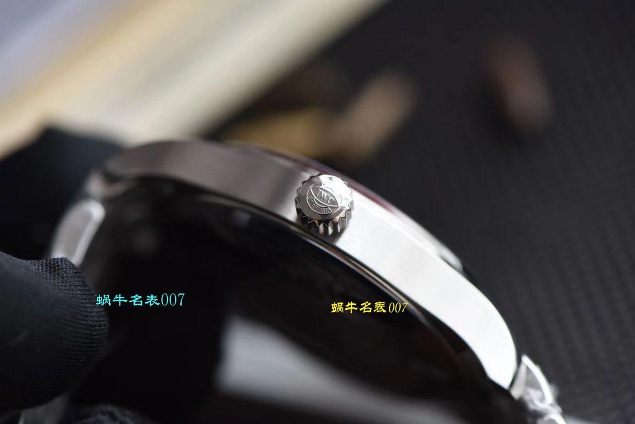 【视频评测V7厂马克十八钢带版】复刻表在哪买IWC万国表飞行员系列IW327002腕表 / WG360