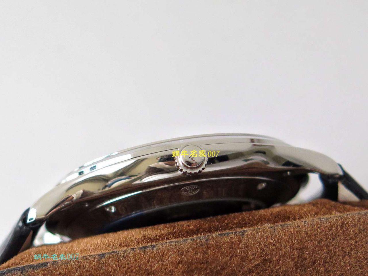 ZF厂超薄臻品【极简主义 超薄设计】复刻手表厂家积家Jaeger-LeCoultre MASTER ULTRA THIN超薄大师系列腕表系列 / JJ138