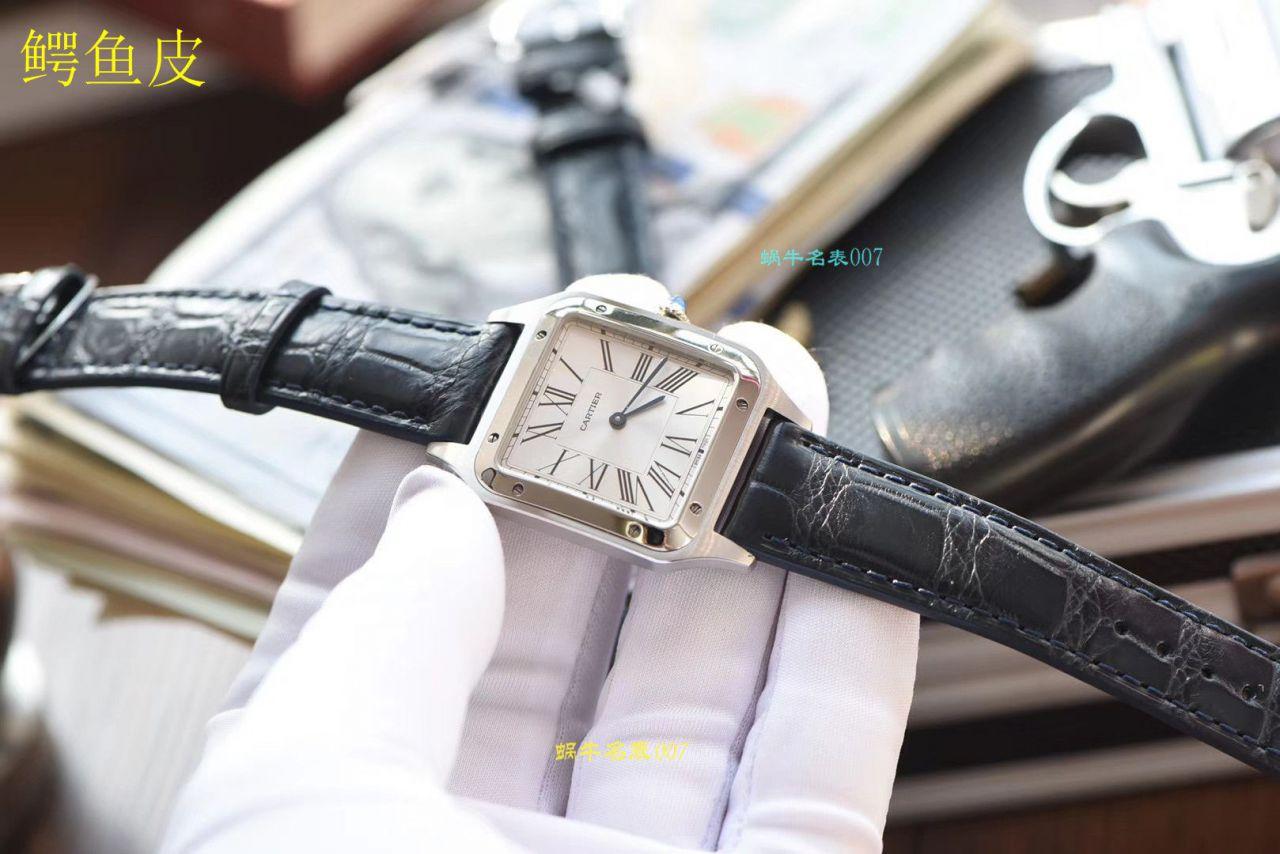 【视频评测XF厂什么叫复刻表】卡地亚山度士系列WSSA0022(大号)WSSA0023(小号)腕表 / K217