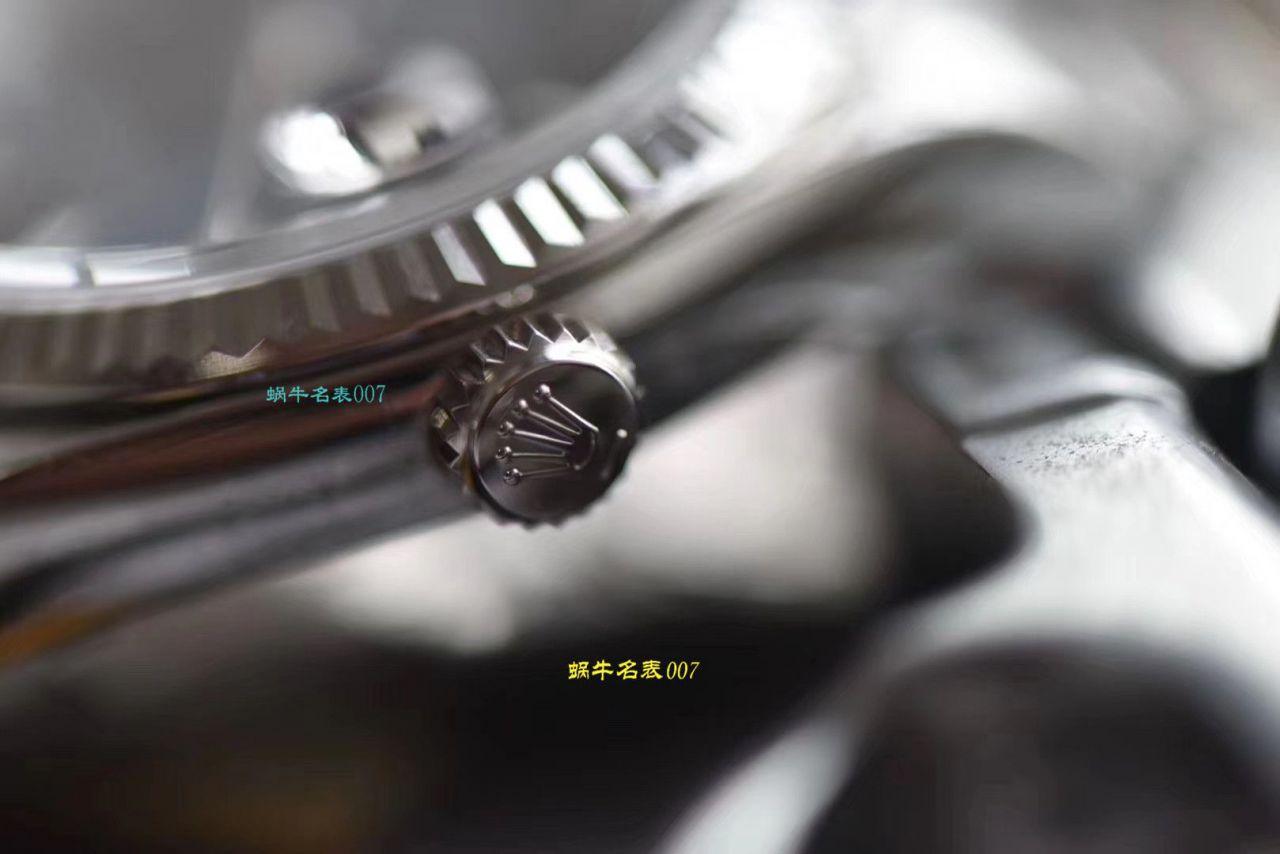 【视频评测DJ厂劳力士复刻仿手表】劳力士日志型36毫米系列m126234-0018腕表 / R328
