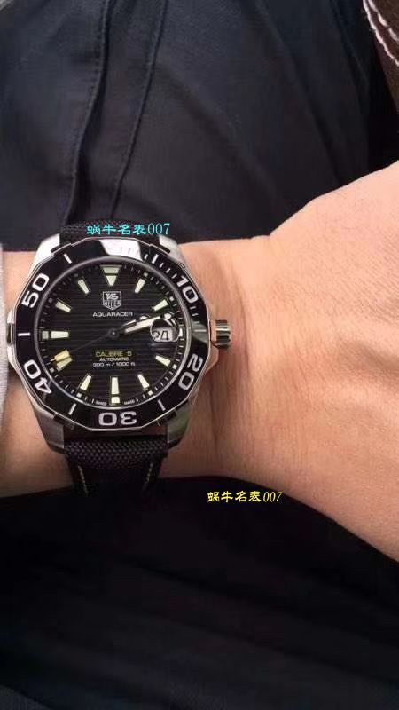 原单牛货泰格豪雅竞潜新款黑蓝双色可选 / TG053