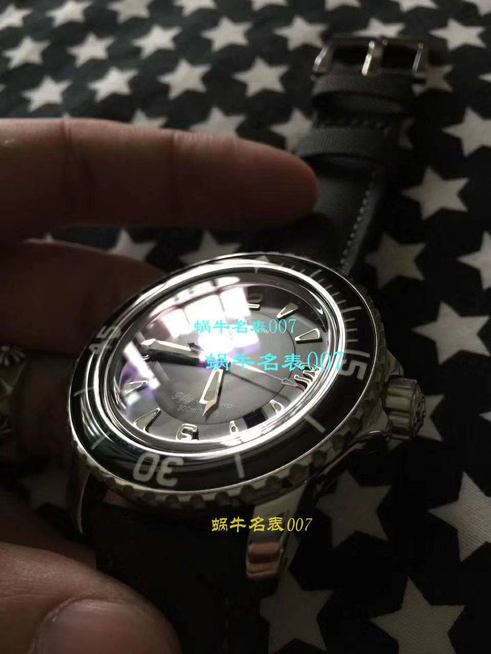 【视频评测ZF厂宝珀五十噚复刻手表】Blancpain宝珀五十噚系列 5015D-1140-52B腕表 / BP061