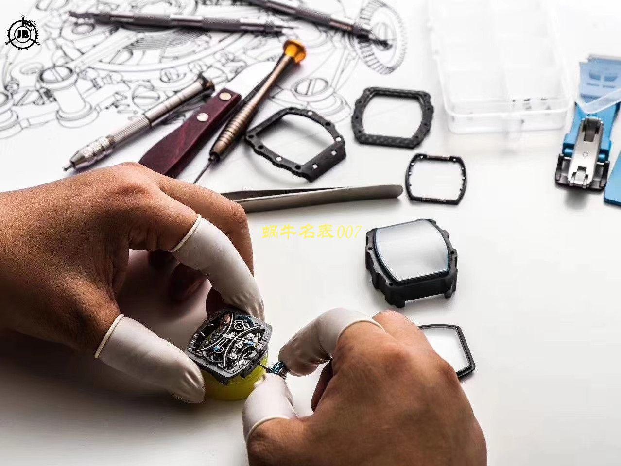 【JB厂理查德米勒复刻手表】Richard Mille男士系列RM 53-01 PABLO MAC DONOUGH陀飞轮腕表 / RM 53-01