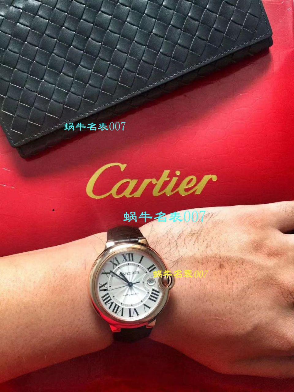 【HVVB6一比一超A高仿手表】卡地亚蓝气球系列WSBB0003男士机械腕表 / K137