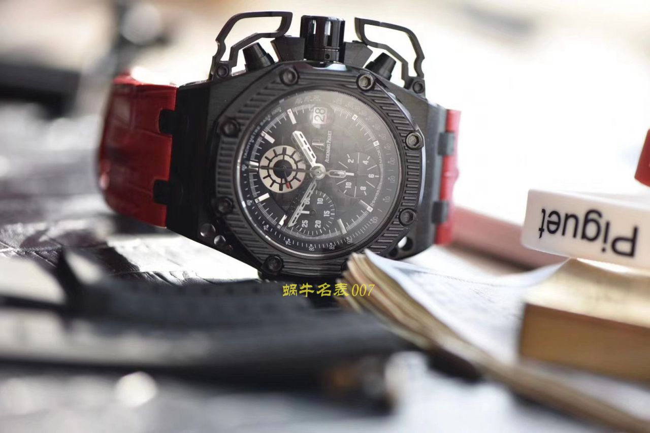 【视频评测NOOB厂顶级复刻幸存者手表】爱彼皇家橡树离岸型系列幸存者26165IO.00.A002CA.01机械腕表 / AP173