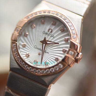 【视频评测SSS厂OMEGA复刻表】欧米茄星座系列123.25.27.60.55.002女士腕表价格报价