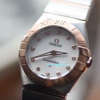 【视频评测SSS厂欧米茄星座复刻手表】欧米茄星座系列131.25.28.60.55.001女腕表价格报价