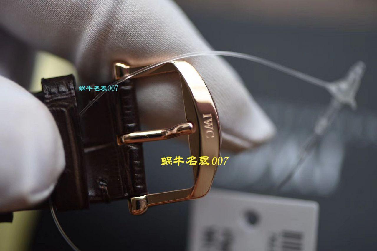 【视频评测万国复刻表】V7厂IWC波涛菲诺重新定义市面最高版本的波涛菲诺(IW356514,IW356504,IW356515,IW356502) / WG386