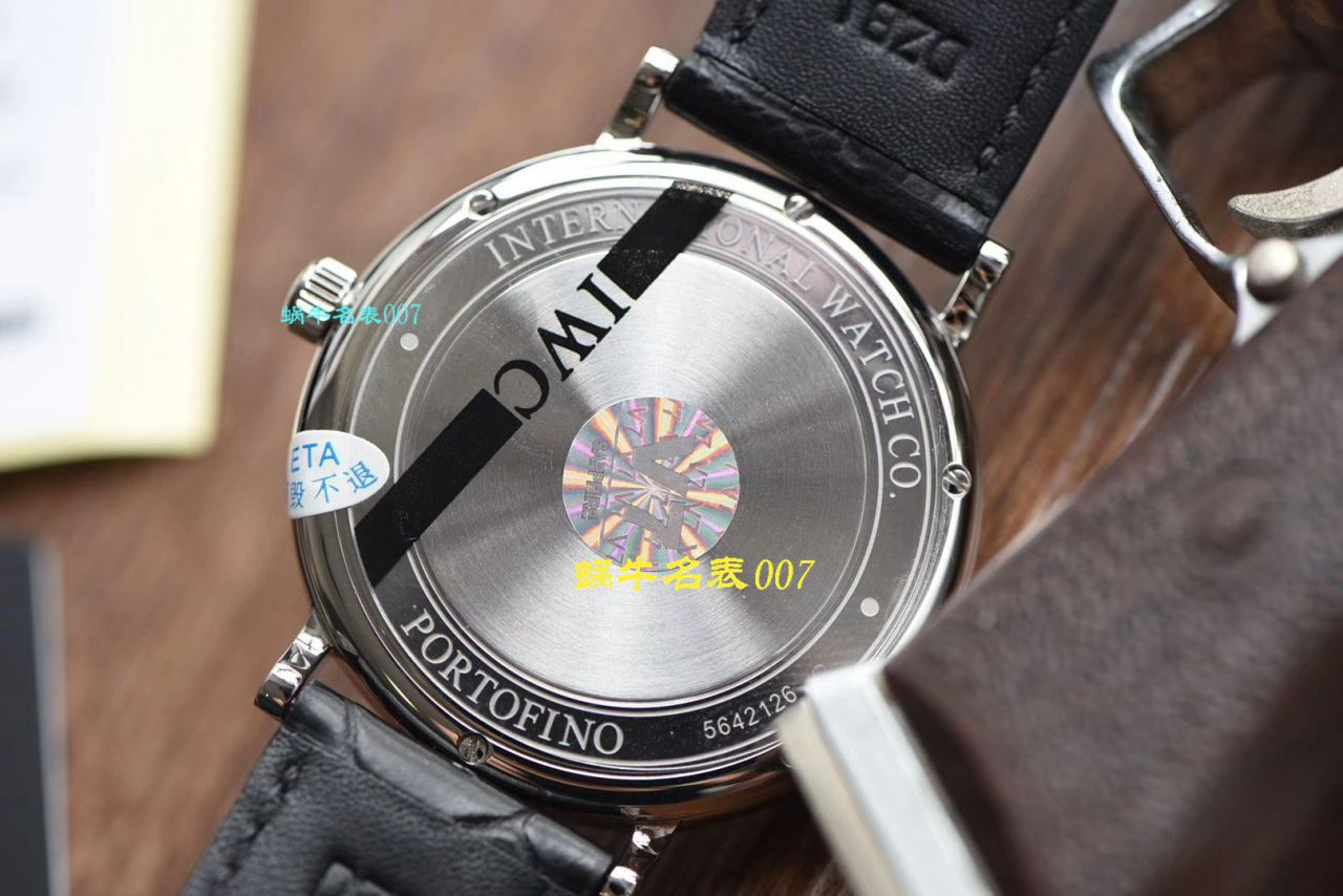 【视频评测V7厂IWC复刻手表】万国表柏涛菲诺系列IW356502腕表 / WG390