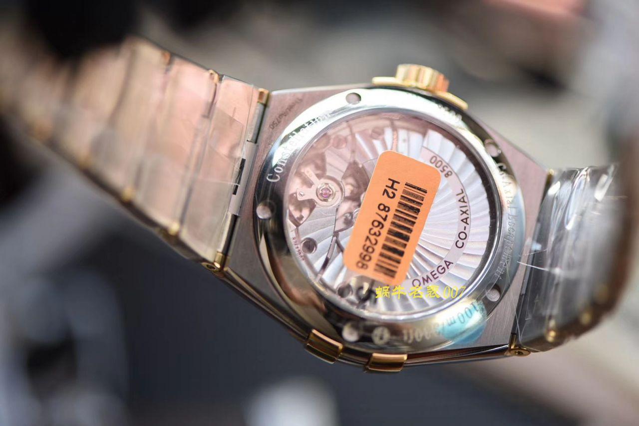 【视频评测VS厂星座复刻表】欧米茄星座系列123.20.38.21.08.001腕表 / M606