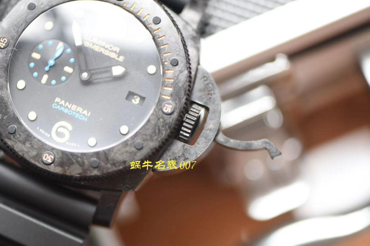 【XF厂沛纳海复刻表】XF定制版本稀有款式可不能错过!XF 锻造碳纤维壳PAM00616 限量版! / XF00616