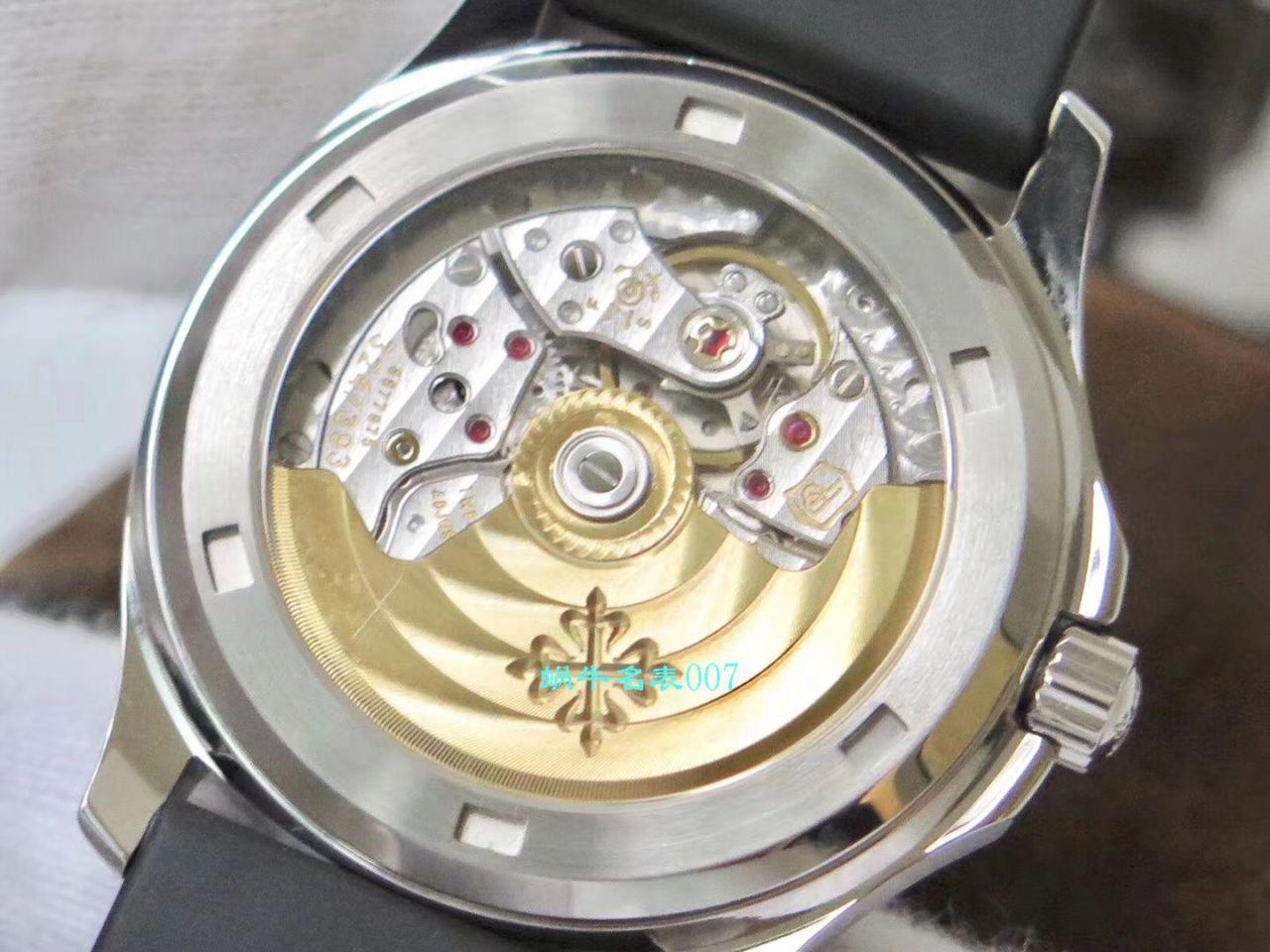 【PPF厂PATEK PHILIPPE复刻表】百达翡丽AQUANAUT系列5069G-001 白金女士腕表 / BD230