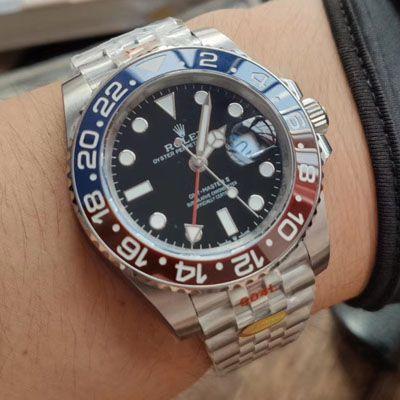 【NOOB厂Rolex顶级复刻手表】劳力士格林尼治型II系列126710BLRO-0001腕表价格报价