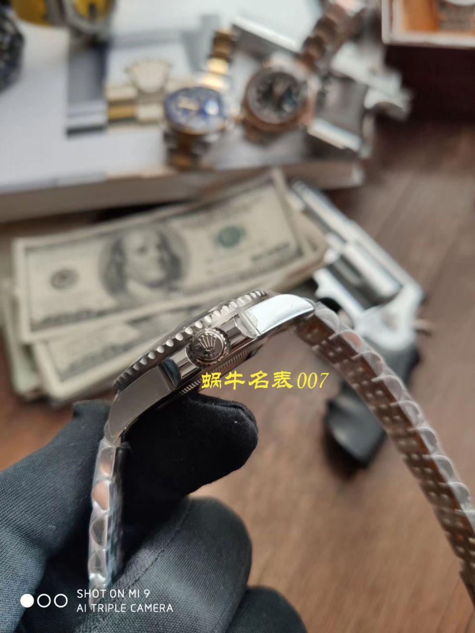 【NOOB厂Rolex顶级复刻手表】劳力士格林尼治型II系列126710BLRO-0001腕表 / R378