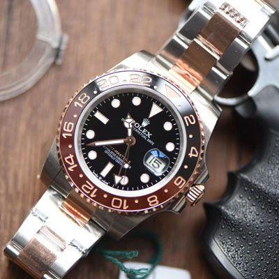【DJRolex复刻手表】劳力士格林尼治型IIGMT系列m126711chnr-0002腕表