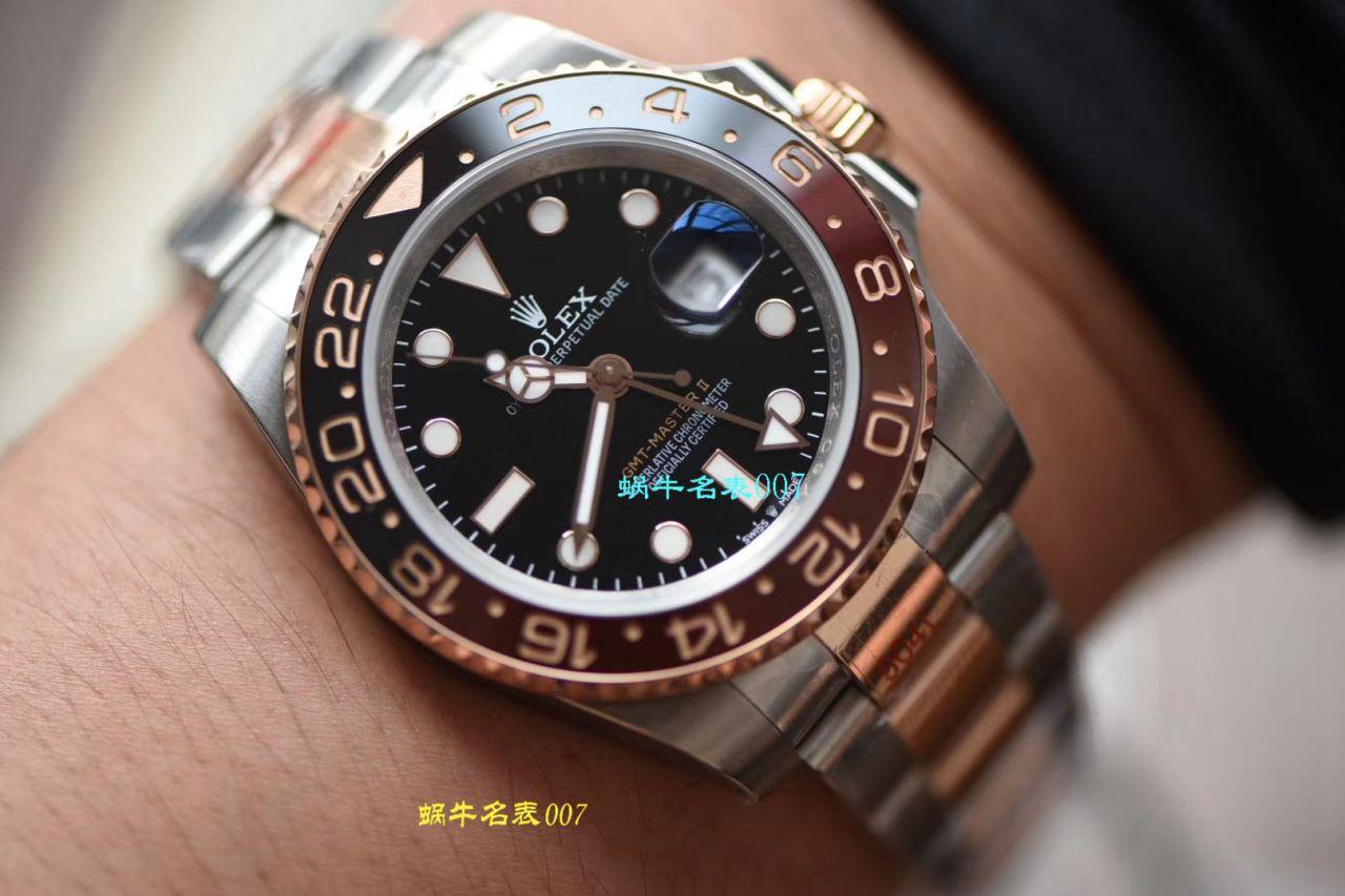 【DJRolex复刻手表】劳力士格林尼治型IIGMT系列m126711chnr-0002腕表 / R379