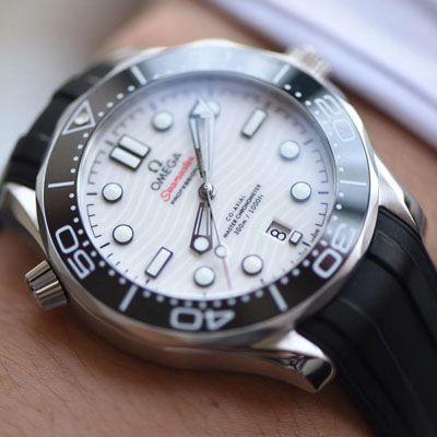 【VS厂Omega白陶瓷面盘300m仿表】欧米茄海马系列210.32.42.20.04.001腕表