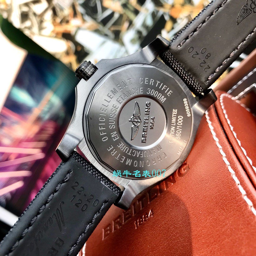 【渠道原单Breitling黄狼】百年灵复仇者系列M17331E2|I530|109W|M20BASA.1腕表 / BL113