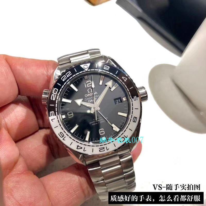 【VS厂Omega复刻仿表】欧米茄海马600米GMT太极圈215.30.44.22.01.001腕表 / M617