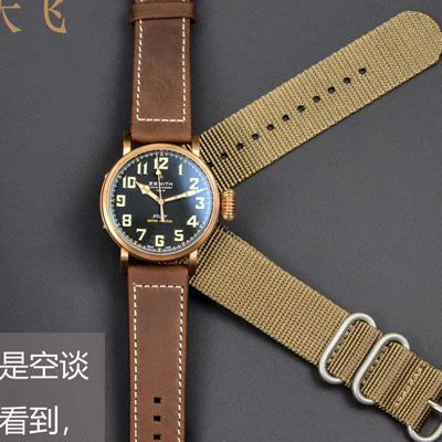 【XF厂Zenith青铜大飞复刻手表】真力时飞行员系列29.2430.679/21.C753腕表价格报价