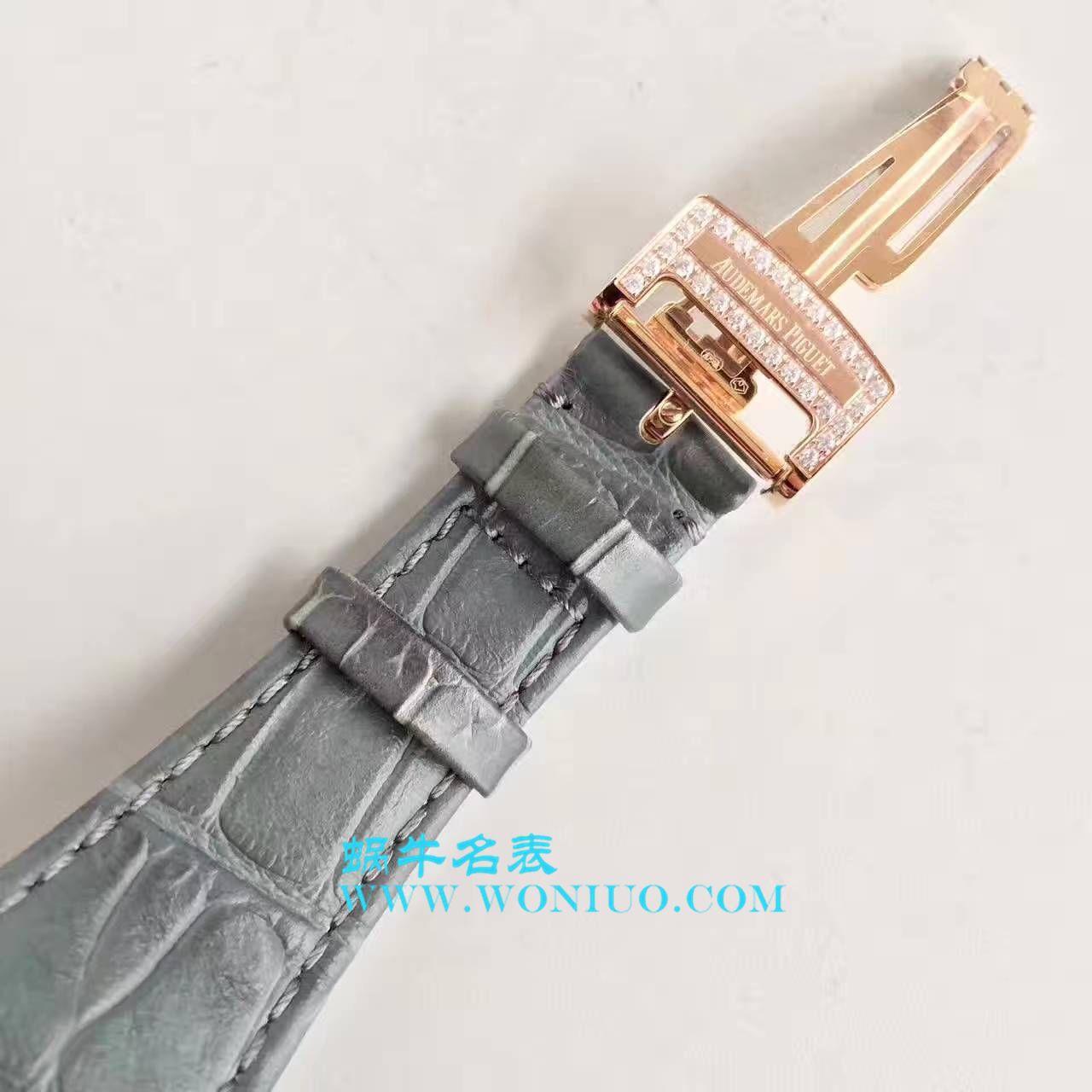 【视频评测JF厂Audemars Piguet复刻手表】爱彼皇家橡树系列15402OR.ZZ.D003CR.01腕表 / AP179