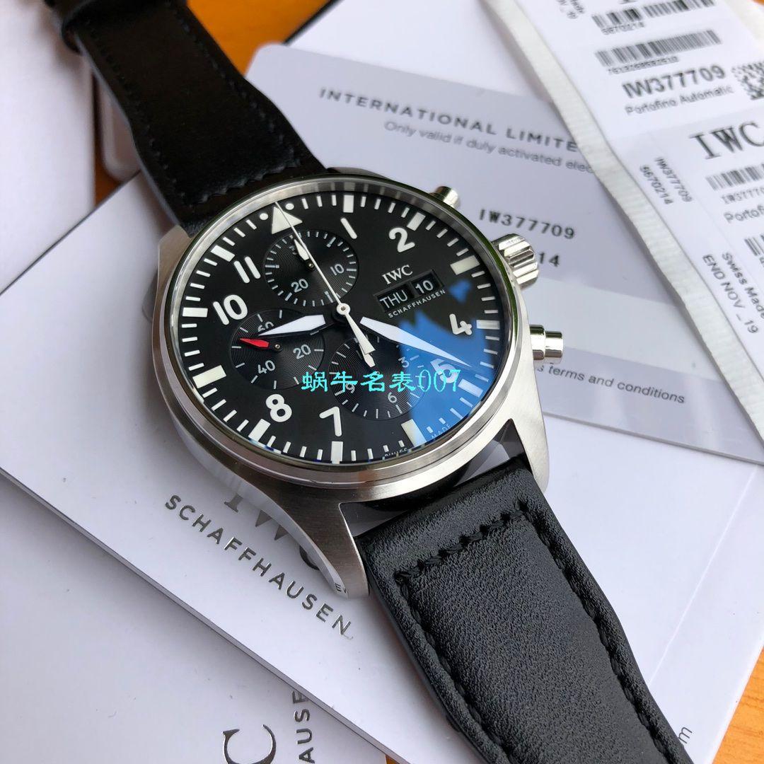 【独家评测视频渠道原单】IWC万国表飞行员系列IW377709腕表 / WG503