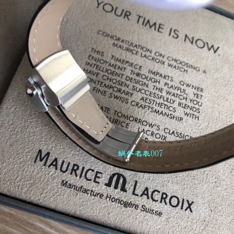 【Maurice Lacroix渠道原单】艾美奔涛系列PT6148-SS001-131-1,PT6148-SS002-131-1,PT6148-SS002-330腕表 / AI08