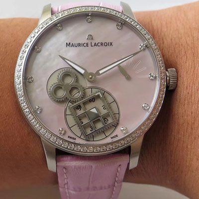 【视频评测AMMaurice Lacroix复刻手表】艾美匠心系列MP7158-SD501-570腕表
