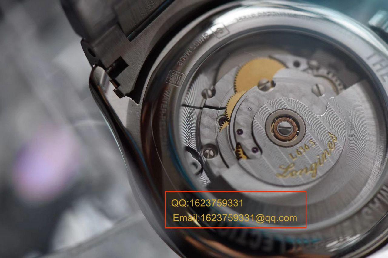 【视频评测KZ厂Longines复刻表】浪琴名匠系列L2.755.4.78.6、L2.755.4.78.3腕表 / LG100