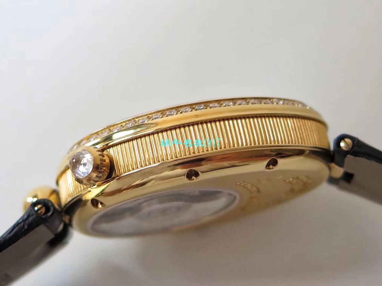 【视频评测ZF厂Breguet复刻女表】宝玑那不勒斯皇后系列8918BA/58/964/D00D腕表 / BZ057