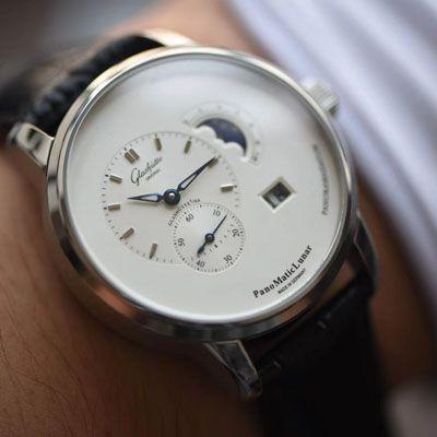 【TZ厂Glashütte Original复刻表】格拉苏蒂原创偏心系列1-90-02-42-32-05腕表